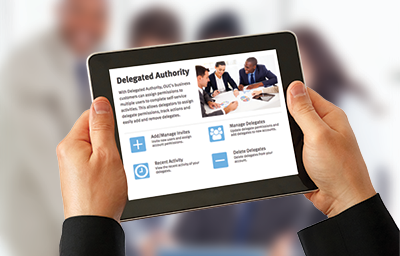 Delegated Authority Business Customers