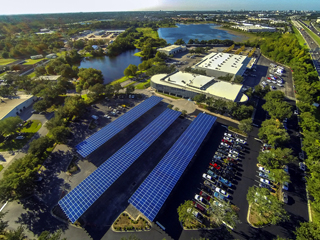 Huerta solar comunitaria en Gardenia