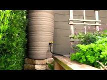 Recicle el agua de lluvia