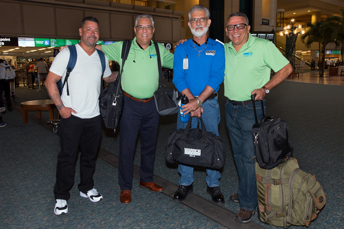 First OUC Crew Flies to Puerto Rico