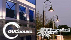 OUCooling and OUConvenient Lighting