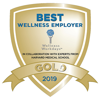 2019 Wellness Weekdays Best Wellness Employer