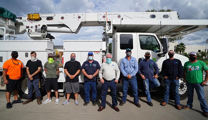OUC is sending a power restoration team to Fairhope, AL.,