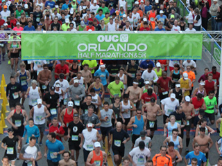 OUC Orlando Half Marathon and 5K