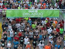 Media maratón y carrera de 5km de OUC en Orlando