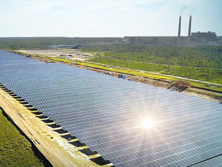 Huerta solar del Centro Energético Stanton