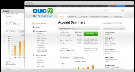 capturas de pantalla del nuevo myOUC